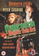 Frankenstein and the Monster from Hell - British DVD cover (xs thumbnail)