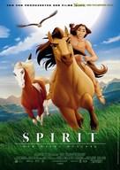 Spirit: Stallion of the Cimarron - German Movie Poster (xs thumbnail)