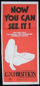 Exhibition - Australian Movie Poster (xs thumbnail)