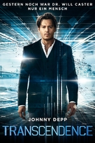 Transcendence - German Movie Cover (xs thumbnail)