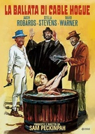 The Ballad of Cable Hogue - Italian DVD movie cover (xs thumbnail)