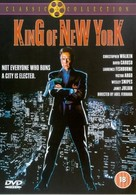 King of New York - British DVD movie cover (xs thumbnail)