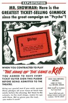 The Name of the Game Is Kill - poster (xs thumbnail)