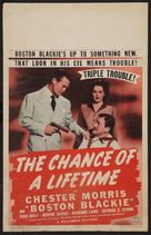 The Chance of a Lifetime - Movie Poster (xs thumbnail)