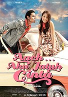 Aach... Aku Jatuh Cinta - Indonesian Movie Poster (xs thumbnail)