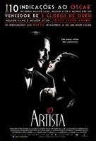 The Artist - Brazilian Movie Poster (xs thumbnail)