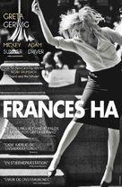 Frances Ha - Danish Movie Poster (xs thumbnail)