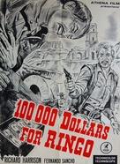 Centomila dollari per Ringo - Danish Movie Poster (xs thumbnail)