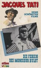 Les vacances de Monsieur Hulot - German VHS movie cover (xs thumbnail)