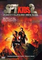 Spy Kids 2 - Finnish DVD movie cover (xs thumbnail)