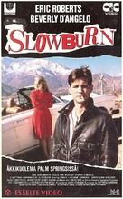 Slow Burn - Finnish VHS movie cover (xs thumbnail)