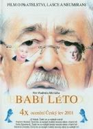 Babí léto - Czech DVD cover (xs thumbnail)