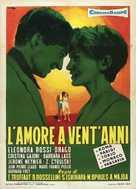 L'amour à vingt ans - French Movie Poster (xs thumbnail)