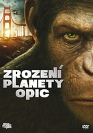 Rise of the Planet of the Apes - Czech DVD cover (xs thumbnail)