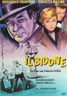 Il bidone - German Movie Poster (xs thumbnail)