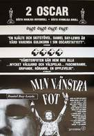 My Left Foot - Swedish Movie Poster (xs thumbnail)