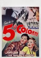 Saboteur - Belgian Movie Poster (xs thumbnail)