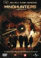 Mindhunters - Dutch DVD cover (xs thumbnail)