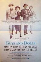 Guys and Dolls - British Movie Poster (xs thumbnail)