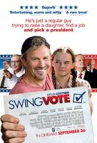 Swing Vote - British Movie Poster (xs thumbnail)