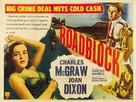 Roadblock - British Movie Poster (xs thumbnail)