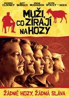 The Men Who Stare at Goats - Slovak DVD movie cover (xs thumbnail)