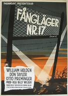 Stalag 17 - Swedish Movie Poster (xs thumbnail)