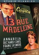 13 Rue Madeleine - British Movie Cover (xs thumbnail)