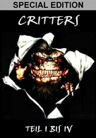 Critters - German DVD cover (xs thumbnail)