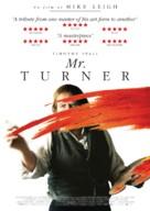 Mr. Turner - Swedish Movie Poster (xs thumbnail)