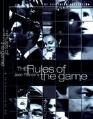 La règle du jeu - DVD cover (xs thumbnail)