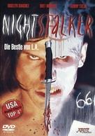 Nightstalker - German DVD movie cover (xs thumbnail)