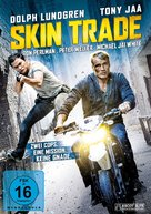Skin Trade - German DVD cover (xs thumbnail)
