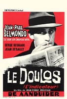 Le doulos - Belgian Movie Poster (xs thumbnail)