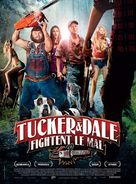 Tucker and Dale vs Evil - French Movie Poster (xs thumbnail)