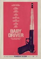 Baby Driver - German Movie Poster (xs thumbnail)