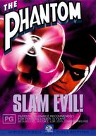 The Phantom - Australian DVD movie cover (xs thumbnail)