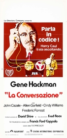 The Conversation - Italian Movie Poster (xs thumbnail)