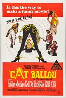 Cat Ballou - Australian Movie Poster (xs thumbnail)
