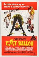 Cat Ballou - Australian Movie Poster (xs thumbnail)