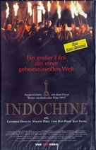 Indochine - German VHS cover (xs thumbnail)