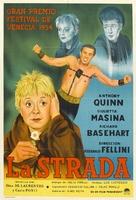 La strada - Argentinian Movie Poster (xs thumbnail)