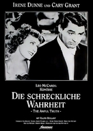 The Awful Truth - German Movie Poster (xs thumbnail)
