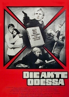 The Odessa File - German Movie Poster (xs thumbnail)