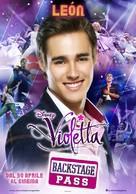 Violetta: La emoción del concierto - Italian Movie Poster (xs thumbnail)