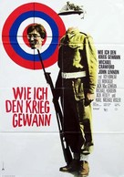 How I Won the War - German Movie Poster (xs thumbnail)