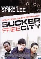 Sucker Free City - Italian DVD movie cover (xs thumbnail)