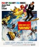 On Her Majesty's Secret Service - Movie Poster (xs thumbnail)