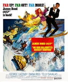 On Her Majesty's Secret Service - Movie Poster (xs thumbnail)