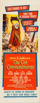 The Ten Commandments - Re-release movie poster (xs thumbnail)